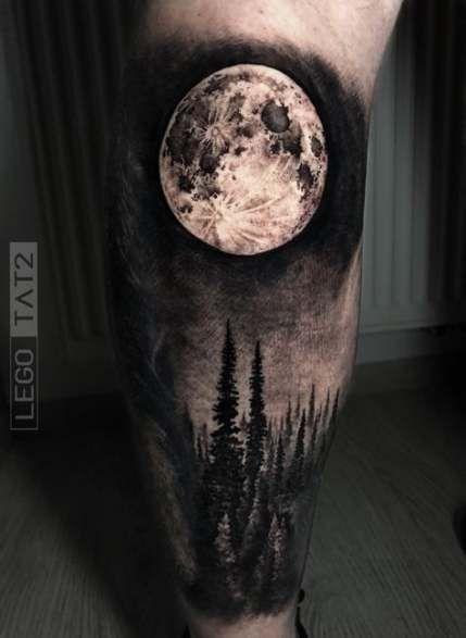 Best Tattoo Moon Leg Ink Ideas Black Art Tattoo Sky Tattoos Moon Tattoo