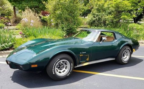This 1976 Chevrolet Corvette is one of the most original on the planet! It has been a beautifully stored and maintained 16K mile example. You don't find them like this very often. #ChevroletCorvette