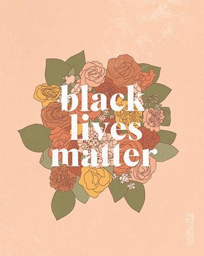 Black Lives Matter Print Cuddle Kind Black Lives Matter Art Black Lives Black Lives Matter Black lives matter collage wallpaper