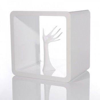 Regal Cube Club 45x45 Cm Weiss Hochglanz Regal Cube Regal