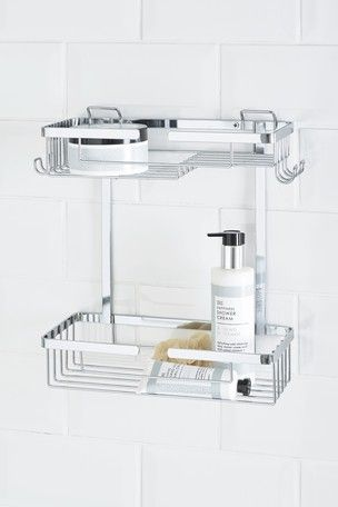 Incredible Two Tier Wire Shower Caddy Bathroom In 2019 Corner Home Remodeling Inspirations Basidirectenergyitoicom