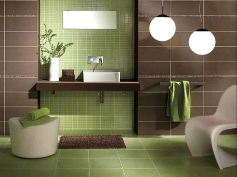 Badezimmer Deko Braun Grun Grunes Badezimmer Badezimmer