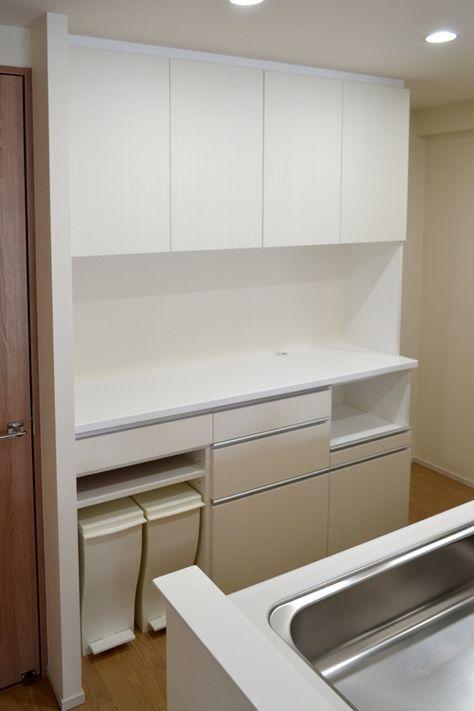 オーダー食器棚 144 食器棚 ニトリ キッチン 棚 Ikea カップボード
