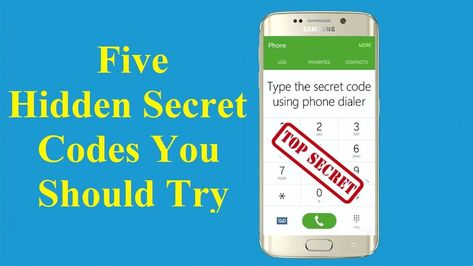 Top 5 Best Android Secret Codes You Should Know!!