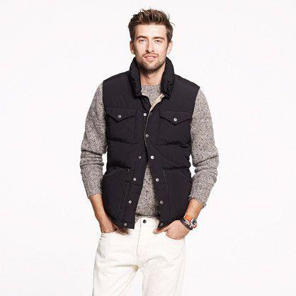 Men's Down Vest Collection