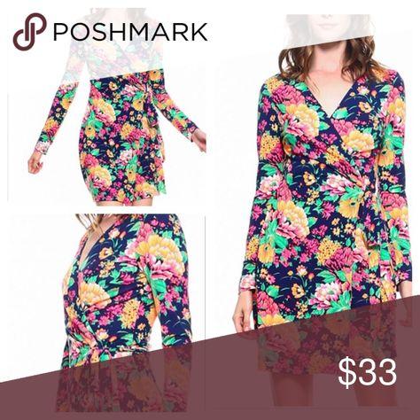 I just added this listing on Poshmark: Available! Women's Long Sleeve Floral Wrap Dress. #shopmycloset #poshmark #fashion #shopping #style #forsale #Dresses & Skirts