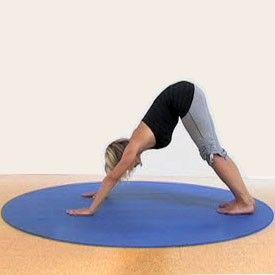YOGA Accessories | Round Yoga Mat this is genius! im all over my mat!