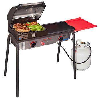 Camp Chef Big Gas Grill 2 Burner W Griddle Gas Grill Backyard Grilling Grilling
