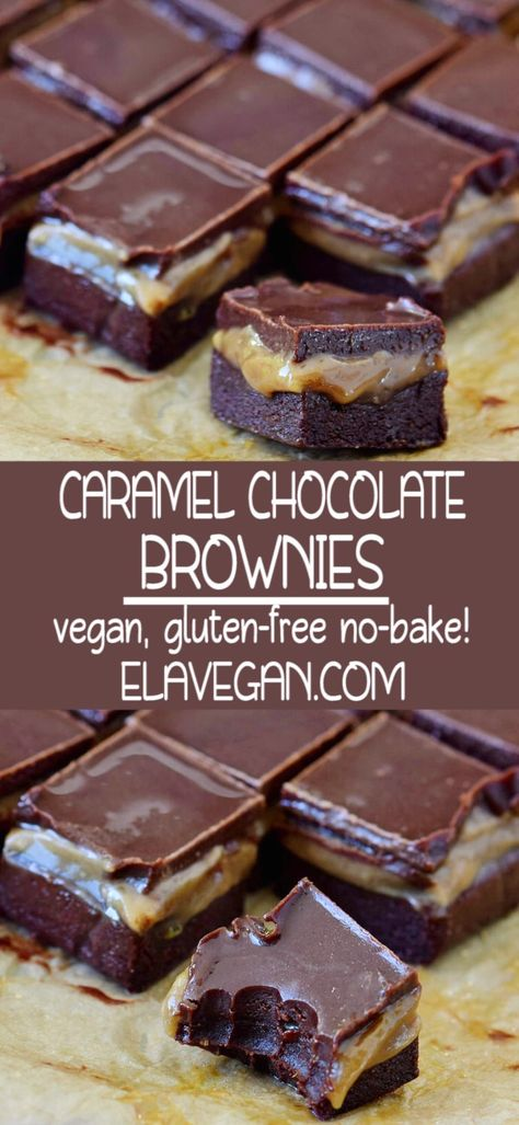 CARAMEL CHOCOLATE BROWNIES