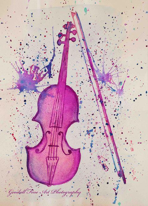 pink Serenata Watercolor...