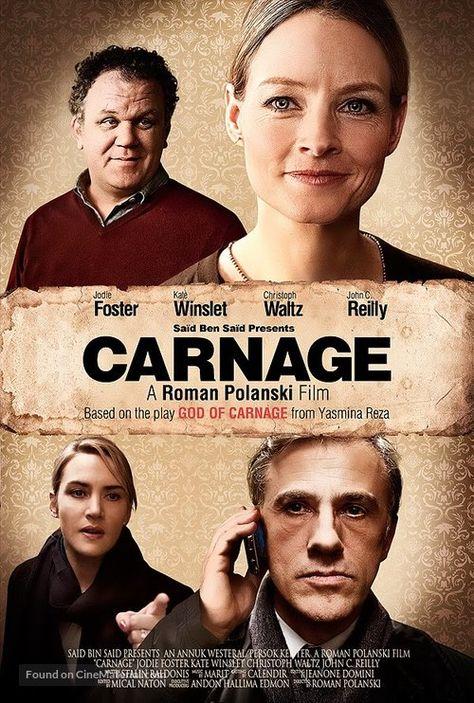 ''Carnage - CARNAGE'' 2011 U.S movie poster. (32).