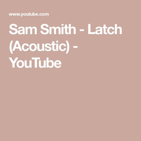 Sam Smith Latch Acoustic Pictures   Sam Smith Latch Acoustic Images ...