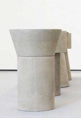 Scott Burton Furniture | FURNITURE | Pinterest | Concrete, Stools And Cement