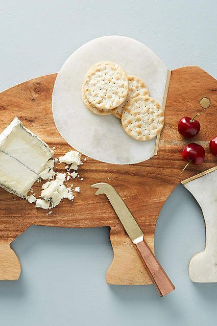Anthropologie Elephant Cheese Board Ad Trader Joes Cheese