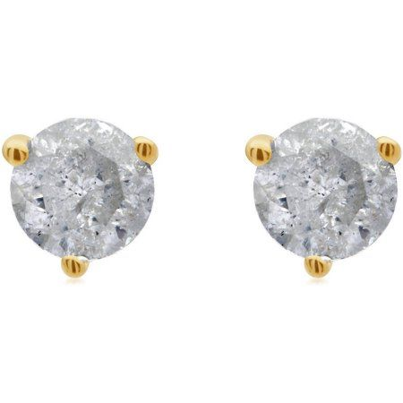 Jewelry Stud Earrings Round Diamonds Diamond