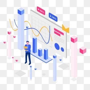 معدل المشاركة متساوي القياس مفهوم التوضيح متساوي القياس مفهوم التصميم المسطح لتصميم صفحة الويب لموقع الويب والمحمول Websitevector التوضيح متساوي القياس رقمي Presentation App Concept Design Page Design