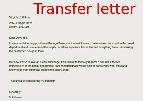 transfer letters samples ask for job new confirmation letter - job abandonment letter