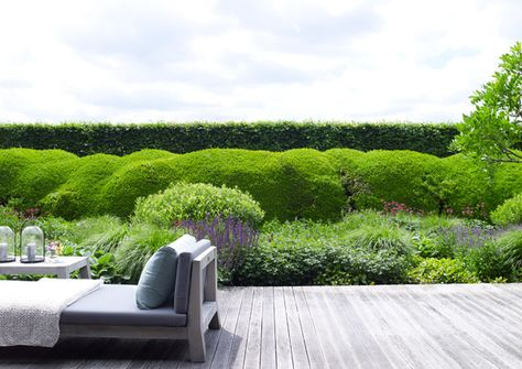 gorgeous villa, north of amsterdam piet boon® terrace ideas - Garden Design Company