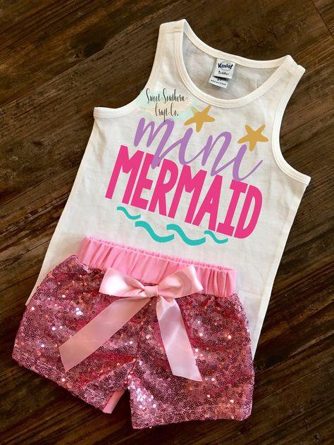 e1c1bb0d Mermaid Mommy & Me Tank Top - Mommy and Me Tanks - Mer Mama - Mer Mini -  Mini Me - Mermaid Shirts | Baby & Kid Personalized Shirts | Mommy, me shirt,  ...
