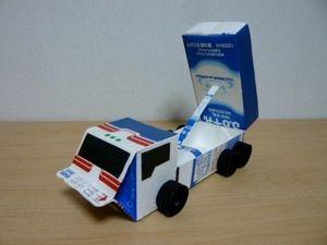 牛乳パックで工作しよう 男の子が喜ぶ乗り物のおもちゃアイデア集 Itwrap 牛乳パック 牛乳パック おもちゃ 手作り おもちゃ 車