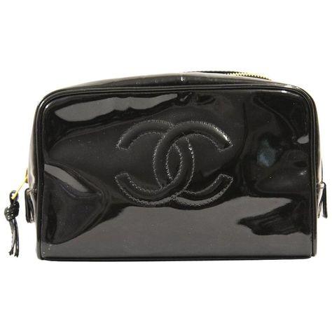 5e27cded56f6 List of Pinterest chanel makeup bag black pictures & Pinterest ...