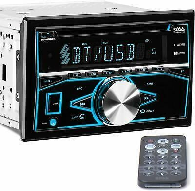 Boss Audio Systems 850brgb Car Stereo Double Din Boss Audio Car Stereo Audio System