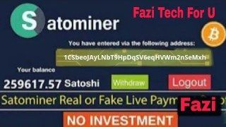 New Free Bitcoin Cloud Mining Website Real Or Fake? Live Withdrawl