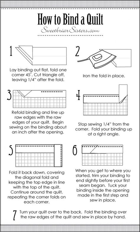 I don't know about you, but I am always forgetting the details of thing- even if I'm doing them all the time! It's actually kind of embarrassing. Like, all the time. Anyway, one thing that I'm constantly looking up is how to bind a quilt. I always forget how exactly to fold the corners to …