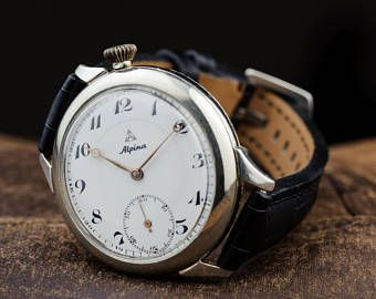 vente en magasin En liquidation mode de vente chaude Alpina WATCH ON ORDER, mens antique watch, swiss watch ...