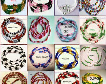 Yoruba Eleke necklace for orishas.