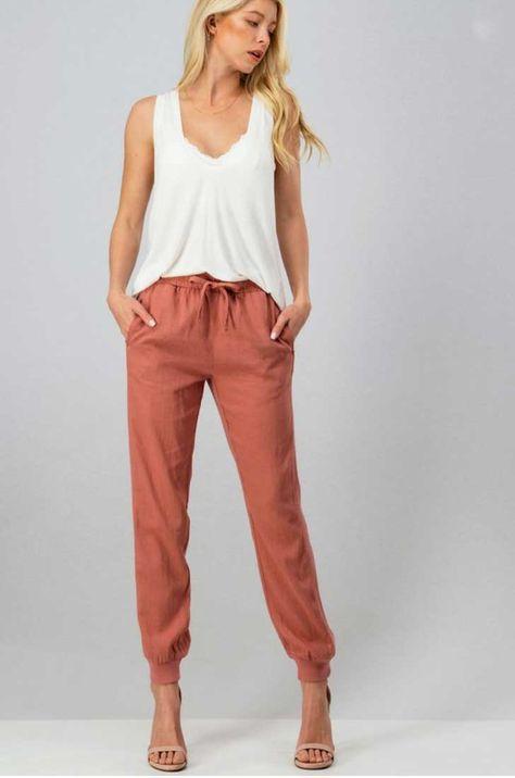 Desert Rose Jogger Pants - Small