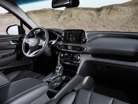 2019 Hyundai Santa Fe Is A Slickly Styled Family Suv Hyundai Santa Fe Hyundai Santa Fe Interior Santa Fe Sport