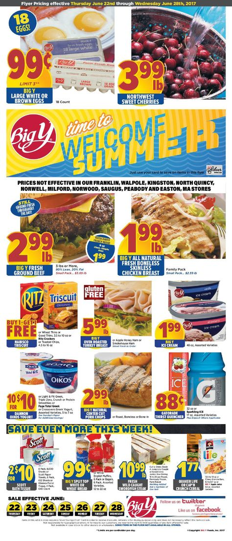 big y weekly ad june 22 28 2017 http www olcatalog com grocery big y circular html weekly ad circular pinterest big