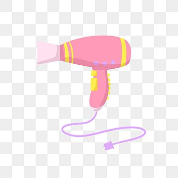 Yellow Hair Dryer Illustration Yellow Hair Dryer Purple Button Purple Wire Png Transparent Clipart Image And Psd File For Free Download Hair Dryer Yellow Hair Hair Clipart