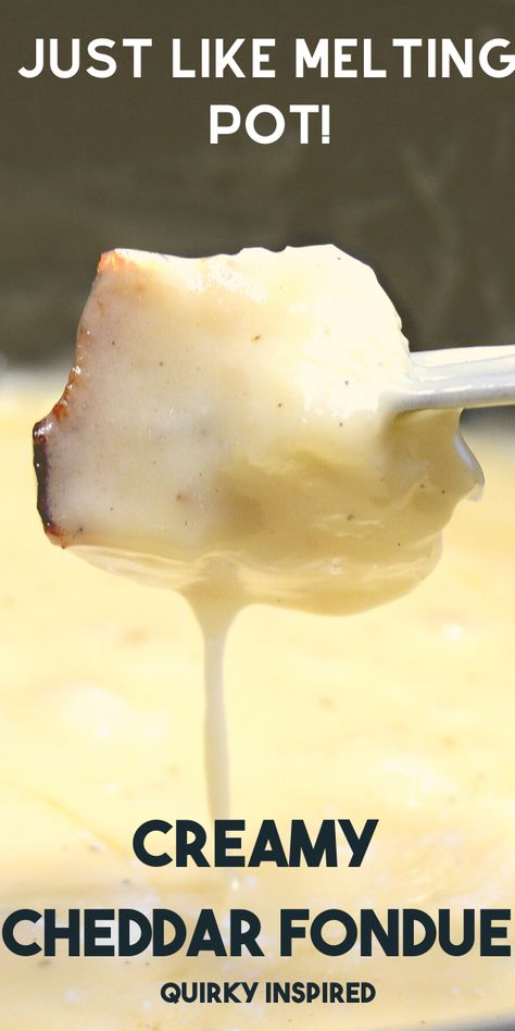 These easy cheese fondue recipes are just like the ones at Melting Pot. Ok, I might think they are better cheese fondue recipes and they are crazy simple! The Melting Pot, Melting Pot Recipes, Fondue Restaurant, Best Cheese Fondue, Beer Cheese Fondue Recipe Melting Pot, Cheese Fondue Recipes, Cheese Fondue Dippers, Swiss Fondue, Fruit Dips
