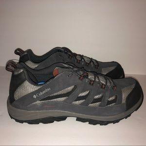 Columbia Mens Hiking Shoe Size 16 Black Gray Shoes Fashion