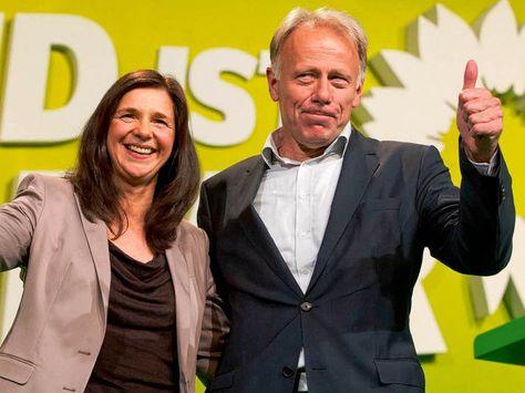 Grünes Spitzenduo: Katrin Göring-Eckardt und Jürgen Trittin  | Foto: dpa