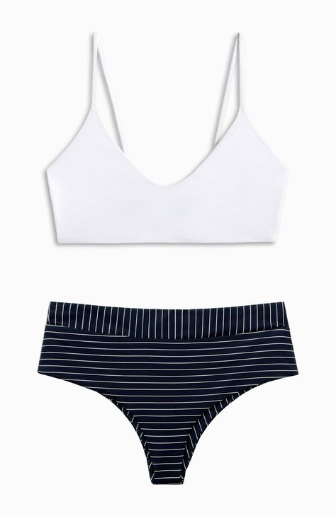 e0e6486fb4140 BOYS+ARROWS || Jackson Bikini Top in White + Raz Pant in Bogey ...