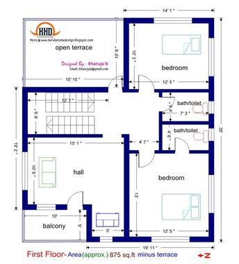 3 Bedroom House Plans 1200 Sq Ft Indian Style Homeminimalis 1200sq Ft House Plans Duplex House Plans Small House Plans India