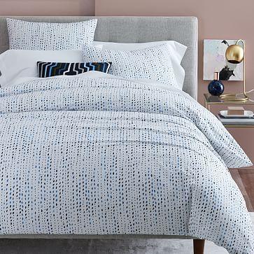 Organic Pebble Dots Duvet Cover Full Queen Midnight Duvet Cover Pattern Duvet Covers Bed Linens Luxury
