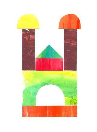 Watercolor Building Blocks/great for preschool