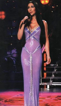 Cher The Way Of Love - The Look this dress in incredible!