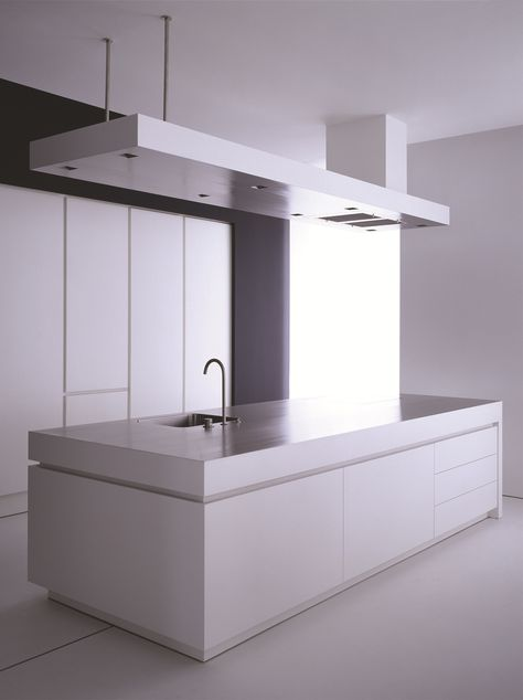 Stainless steel kitchen with island K13 Kitchen with island