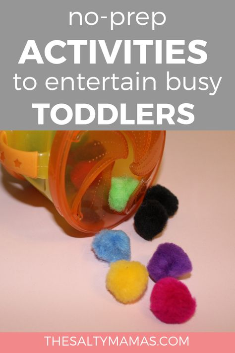 No-Prep Toddler Busy Bags to Keep Your Kids Happy While Out and About