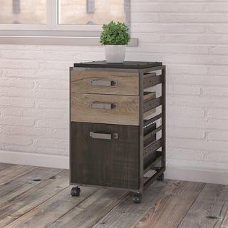 Carbon Loft Plimpton 3 Drawer Mobile File Cabinet Mobile File Cabinet Bush Furniture Filing Cabinet