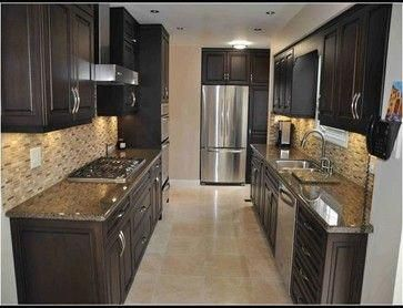 Galley Style Kitchen Design Ideas Pictures Remodel And Decor