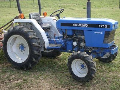 Ford New Holland 1715 3 Cylinder Compact Tractor Master