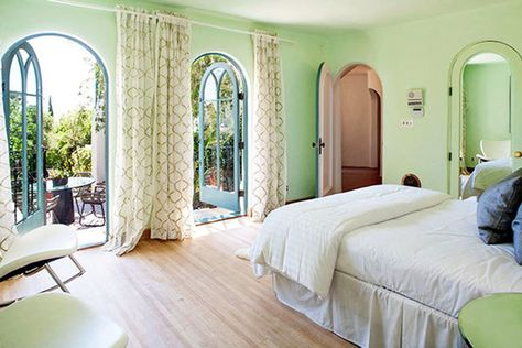 Green Room - See Sia's $4.99 Million Dollar Los Feliz Pad - Photos