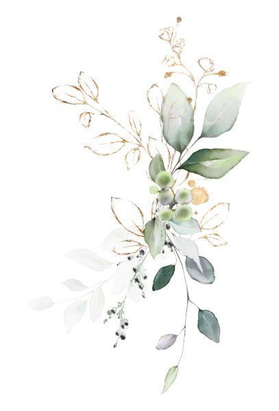 Invitación Boda floral del verde del verdor y del verde de la   Zazzle.com