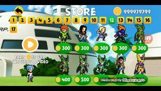 Power Warriors 11 0 Mod Apk Unlimited Coins Download Latest Version For Android Warrior Goku Super Saiyan Goku Super